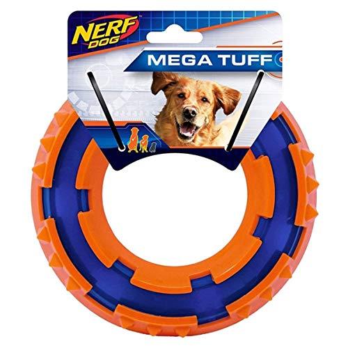 Nerf Dog VP6682E TPR Spike Ring, 15 cm, blau/orange
