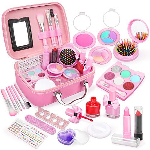 Dreamon Kinderschminke mädchen, Waschbar Make up Spielzeug für...