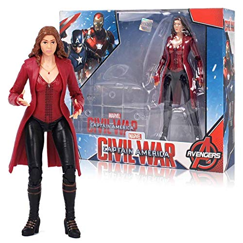 ZQBY7AA Miracle Action Figure Avengers Scarlet Witch Action-Figur zu 17cm Movable Spielzeug