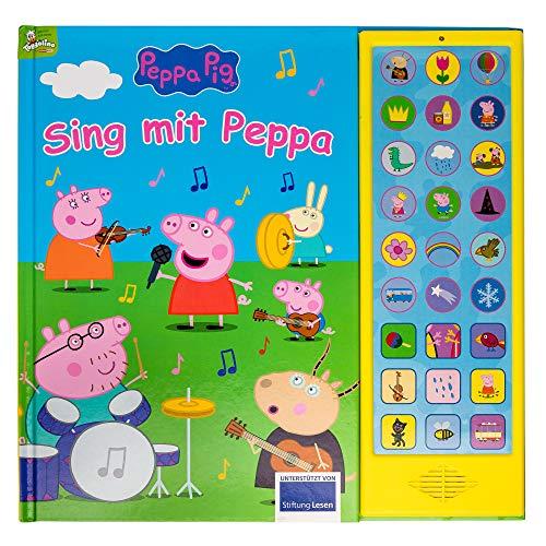 Peppa Pig - Sing mit Peppa Pig - 27-Button-Soundbuch mit 24...