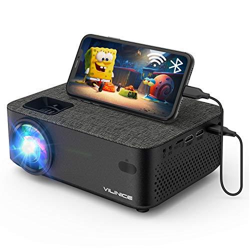 Mini Beamer, Vili Nice Heimkino Beamer Full HD, WiFi Projektor...