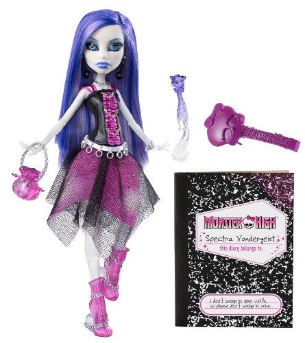 Mattel V7962 - Monster High Spectra Vondergeist, Tochter der...