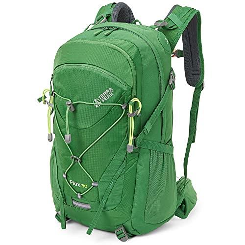 Terra Peak Flex 30 Wanderrucksack 30L grün unisex...