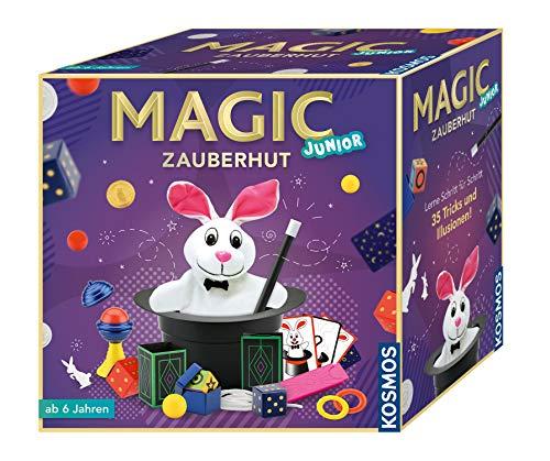 KOSMOS 680282 - Magic Zauberhut, Lerne einfach 35 Zaubertricks...