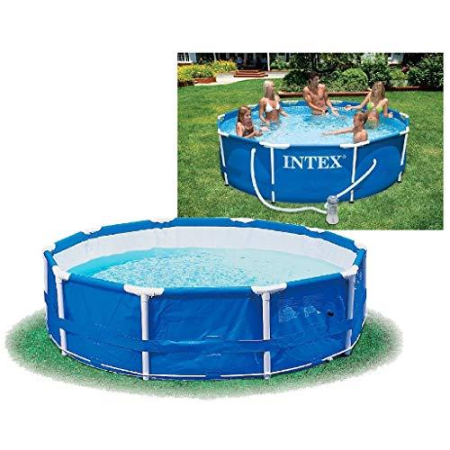 Intex Metal Frame Pool - Aufstellpool - Ø 366 x 76 cm - Mit...