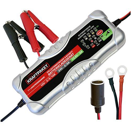 Dino KRAFTPAKET 10A-12V/24V Batterieladegerät mit...