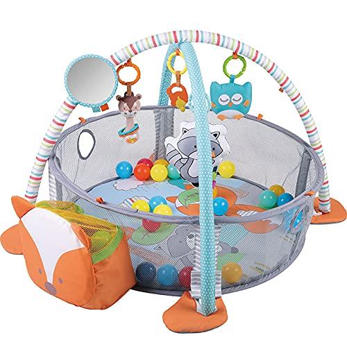 DSFGS Baby Gym Spielmatte 3 in 1 Spielmatten Bodenturnhallen...