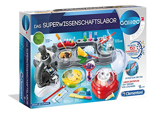 Clementoni 59083 Galileo Science – Das Superwissenschaftslabor,...