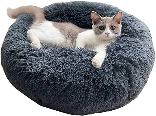 Kohza Hundebett Katzenbett Waschbar, Kuscheliges Donut Hundebett...