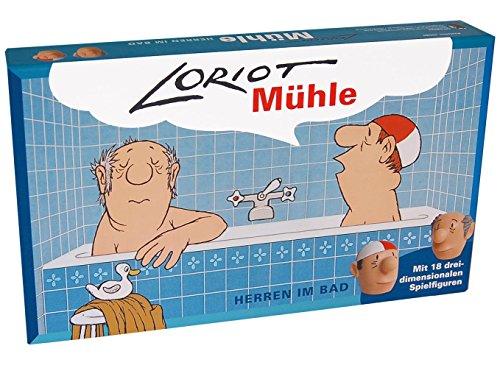 Loriot Mühle 'Herren im Bad' 31,5 x 18,5 x 5 cm • 40080 ''Das...