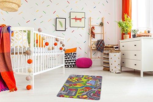misento Kinderteppich Straßenteppich Spielunterlage Kinderzimmer...