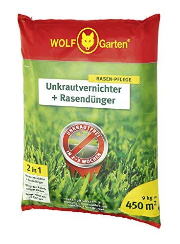 WOLF-Garten - 2-in-1: Unkrautvernichter plus Rasendünger SQ 450;...