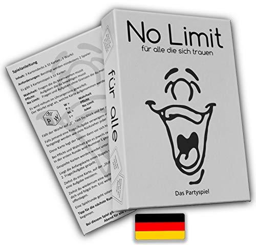 No limit für alle die sich trauen - Partyspiel -...