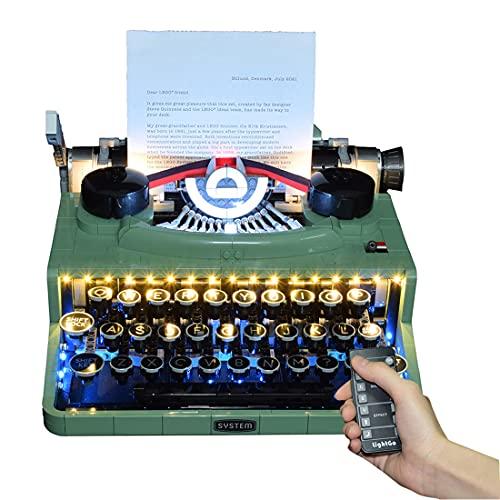 CALEN Led Beleuchtung Licht Set für Lego 21327 Typewriter, LED...