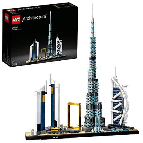 LEGO 21052 Architecture Dubai Modell, Skyline-Kollektion, Bauset für Sammler