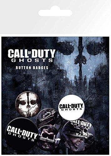 empireposter Call of Duty Ghosts - 6 Ansteck Buttons für Fans -...