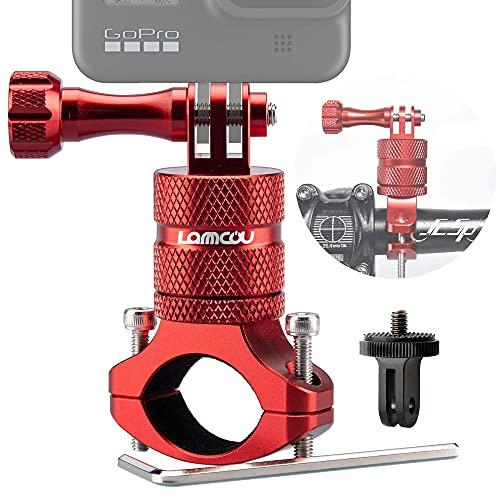 Lammcou 2in1 Fahrrad Kamera Halterung Kompatibel mit GoPro...