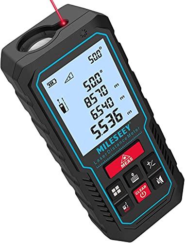 70M Laser Entfernungsmesser, MiLESEEY Lasermessgerät mit...