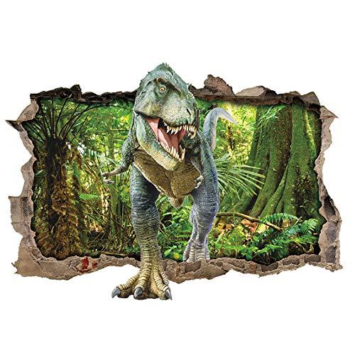 ufengke Wandtattoo Dinosaurier Wald Wandsticker Wandaufkleber...