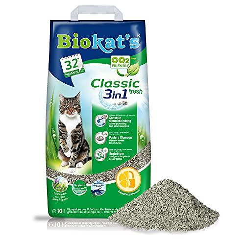Biokat's Classic fresh 3in1 mit Frühlings-Duft - Klumpende...