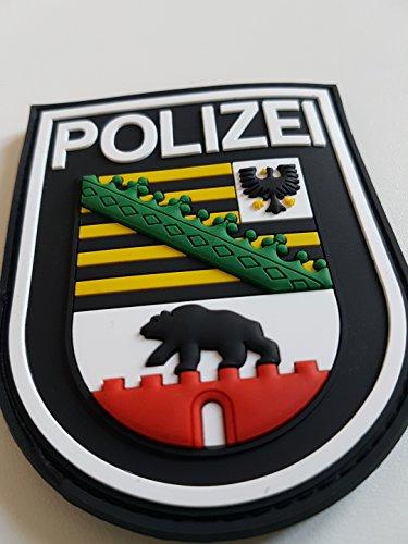 ATG Ärmelabzeichen Polizei Sachsen-Anhalt 3 D Rubber Patch...