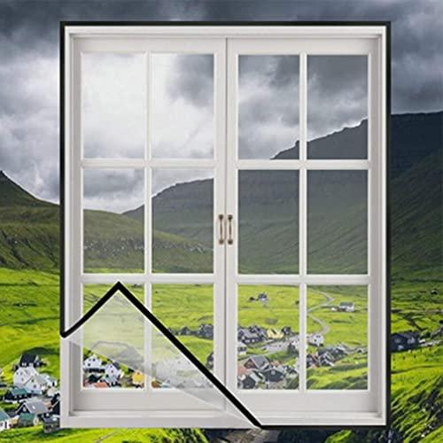 BASHI Transparentes Fliegengitter für Fenster, langlebig,...