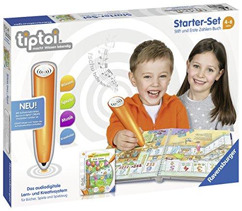 Ravensburger tiptoi Starter-Set 00803: Stift und Erste...