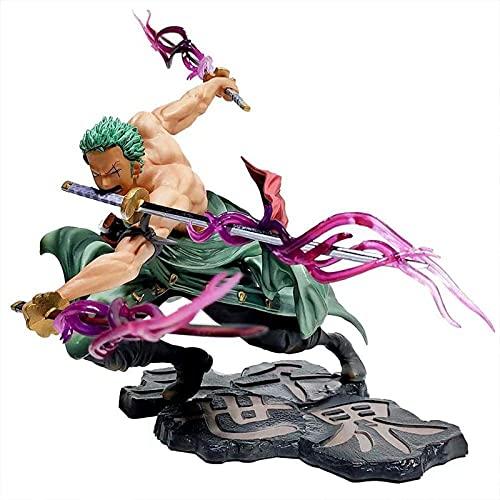 Anime One Piece Figure Roronoa Zoro Big Tausend World Statuette 3...