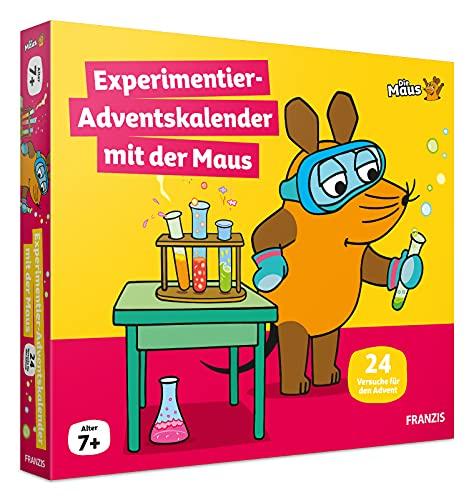 FRANZIS 67185 - Experimentier-Adventskalender 2021 mit der Maus,...