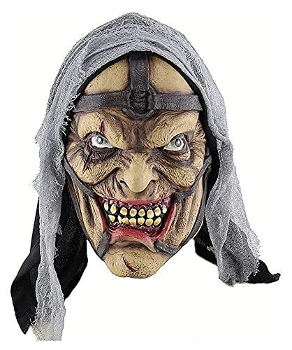 WSGYX Halloween Horror Zauberer Pokemon Mann Maske,...