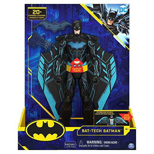 Bizak - DC Comics Figur Batman 30 cm, ausziehbare Flügel,...