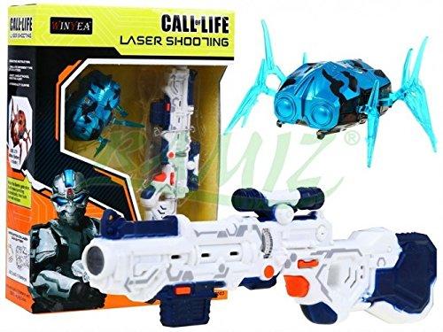 Laser Tag Set Call of Life WINYEA Laserpistolen Nanorobot - Blau