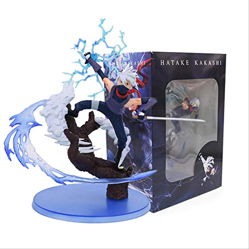 SXXYTCWL Ltong 25cm Naruto Kakashi Sasuke PVC Action Figur Anime...