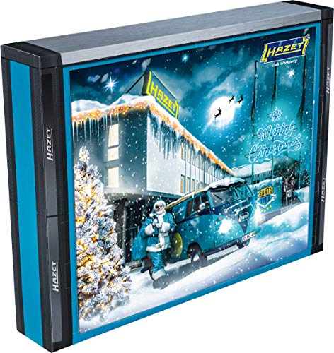 Hazet SANTATOOLS2020 Werkzeug-Adventskalender Santa Tools