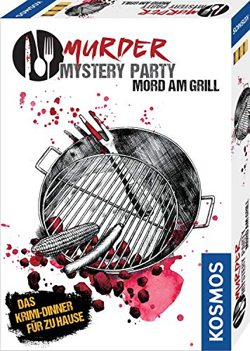 KOSMOS 695118 - Murder Mystery Party - Mord am Grill - Das...