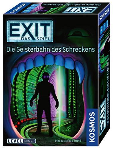 KOSMOS 697907 EXIT- Das Spiel- Die Geisterbahn des Schreckens, Level: Einsteiger,...