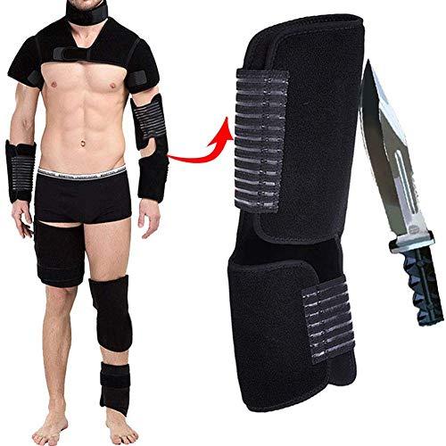 LCSJ Einstellbare Taktische SchutzausrüStung, Atmungsaktiver, Stichfester Anzug, Unsichtbare,...