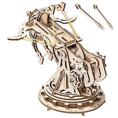 ROBOTIME 3D Puzzle Holz Erwachsene Bogenschießen Modellbau...