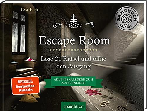 Escape Room. Der erste Escape-Adventskalender: Löse 24 Rätsel...