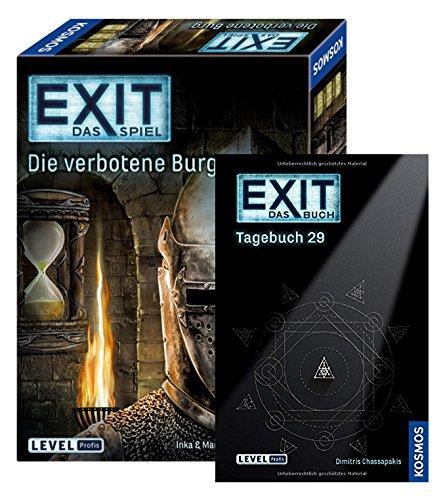 EXIT Kosmos Spiele 692872 Spiel, Die verbotene Burg, Escape Room...