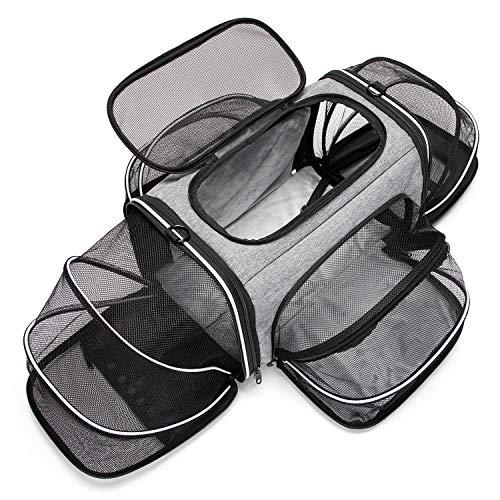ESTARER Tragetasche Faltbare Transporttasche für Katze und...