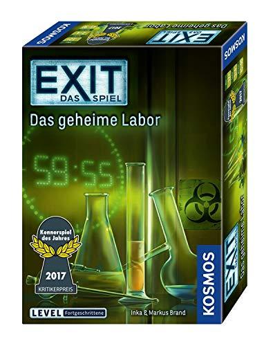 KOSMOS 692742 - EXIT - Das Spiel - Das geheime Labor, Kennerspiel...