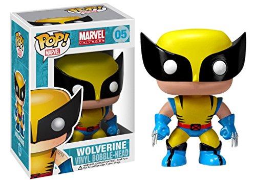 Funko FUN2277 Marvel Universe POP Heroes X-Men Wolverine 4-Inch...