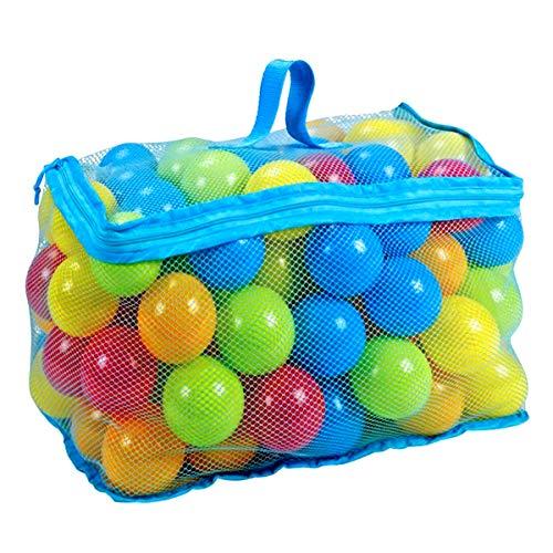 Haokaini 100Pcs 6Cm Mehrfarbige Ozeanbälle Set Pitball Spielzeug...