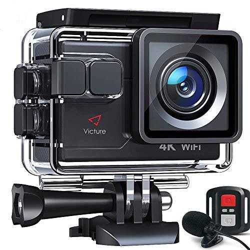 Victure AC700 Action Cam 4K WiFi 20MP wasserdichte 40M...