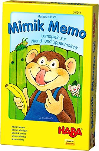HABA 304242 - Mimik Memo – Lernspiele für Mund- und...