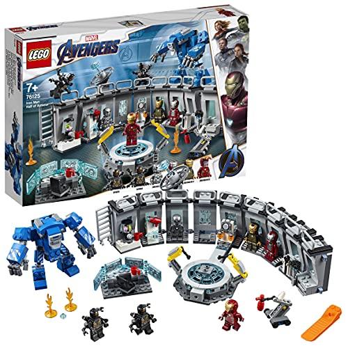 LEGO 76125 Super Heroes Marvel Avengers Iron Mans Werkstatt, Set...