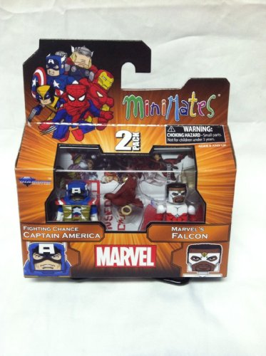 Marvel Minimates TRU Wave 18 Fighting Chance Captain America And...
