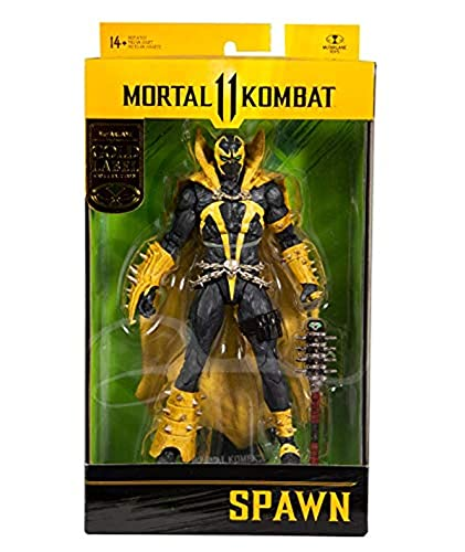 McFarlane Toys Gold Label Wave 2 - Mortal Kombat 11 Spawn (Fluch...