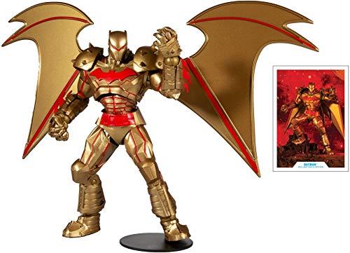 DC Multiverse Batman Hellbat Suit Actionfigur Gold Edition 18 cm
